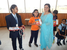 Felicitation of students who Excelled in olympiad