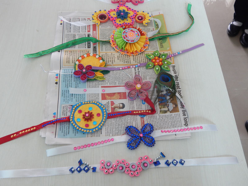 Rakhi Making Competition