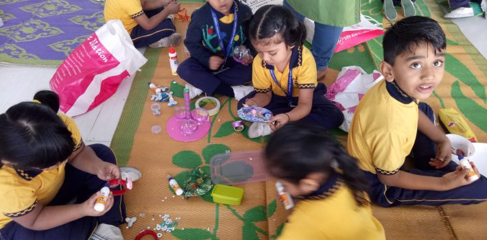Pre-Primary -Best out of waste competition